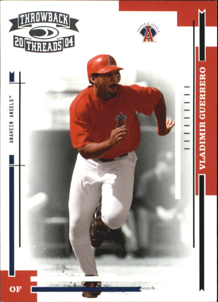 2004 Throwback Threads #7 Vladimir Guerrero