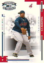 2004 Throwback Threads #59 C.C. Sabathia