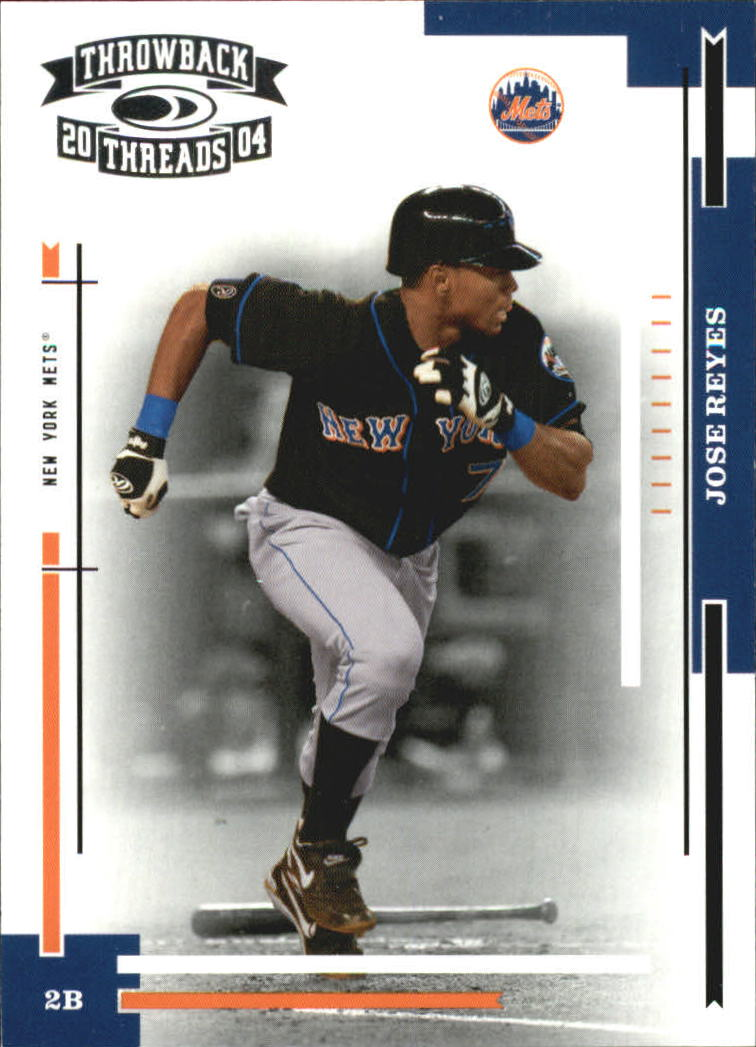 2004 Throwback Threads #126 Jose Reyes