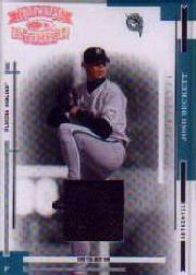 2004 Throwback Threads Material Prime #76 Josh Beckett Jsy/25