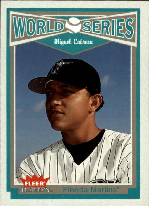 2004 Fleer Tradition #4 Miguel Cabrera WS