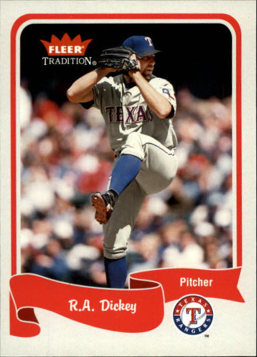 2004 Fleer Tradition #58 R.A. Dickey