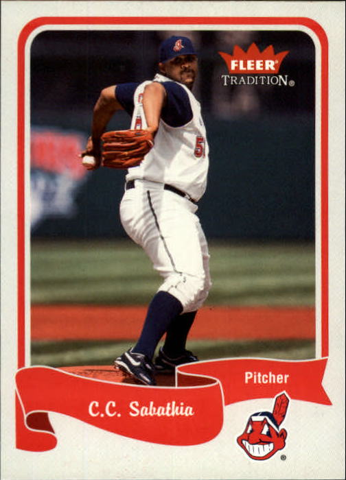2004 Fleer Tradition #107 C.C. Sabathia
