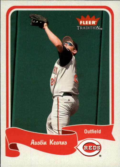 2004 Fleer Tradition #178 Austin Kearns