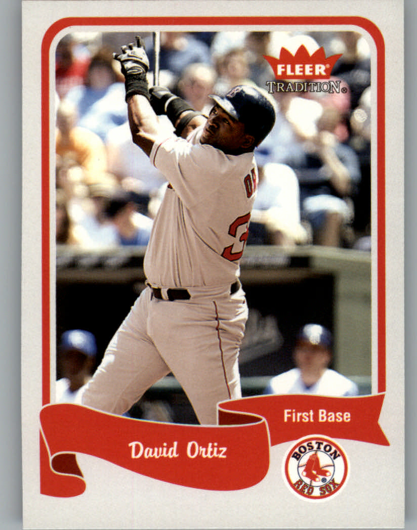 2004 Fleer Tradition #185 David Ortiz