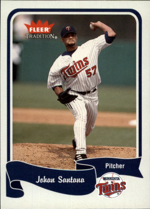 2004 Fleer Tradition #315 Johan Santana