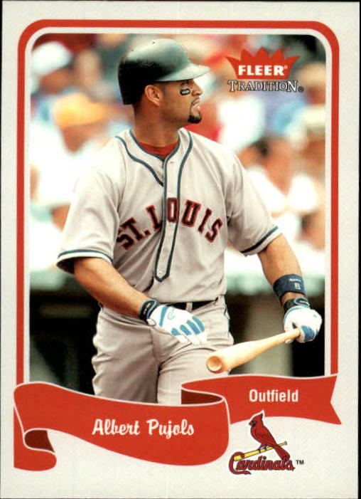 2004 Fleer Tradition #399 Albert Pujols