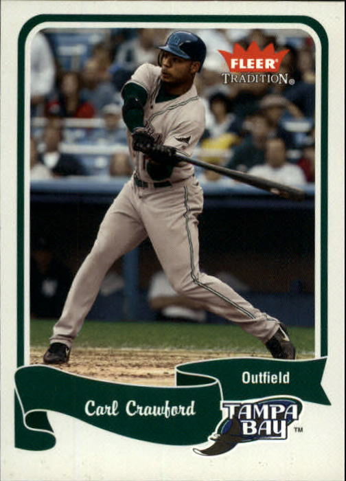 2004 Fleer Tradition #421 Carl Crawford SP
