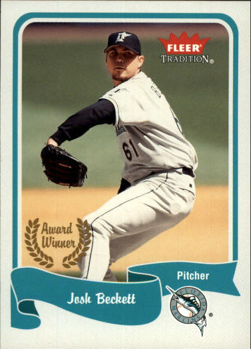 2004 Fleer Tradition #462 Josh Beckett AW SP
