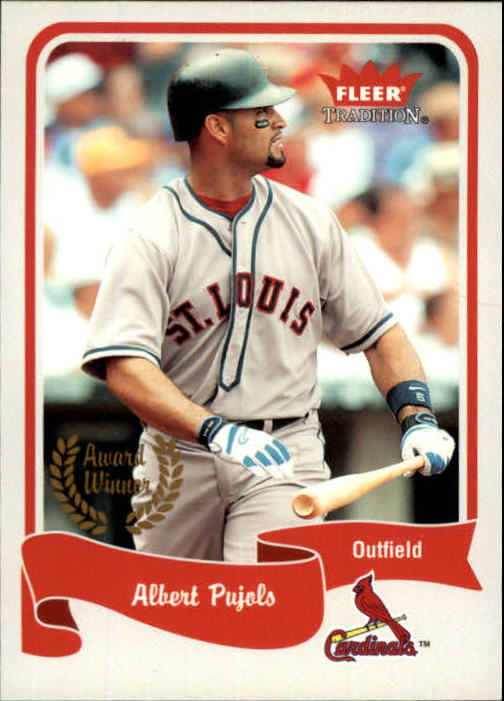 2004 Fleer Tradition #466 Albert Pujols AW SP