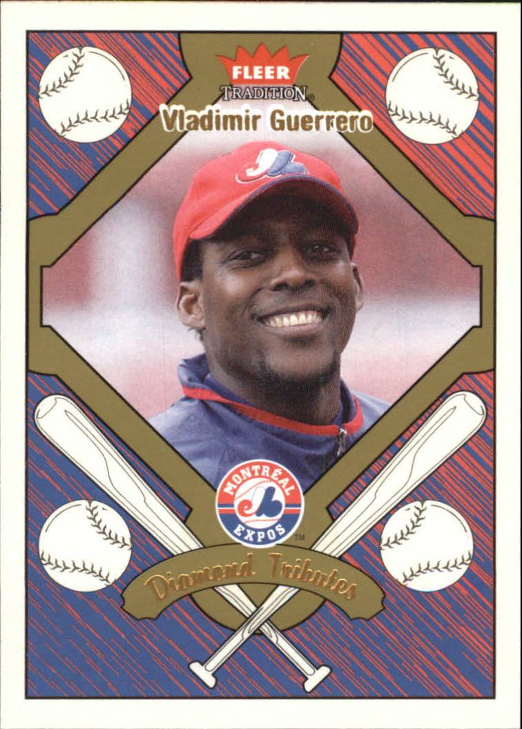 2004 Fleer Tradition Diamond Tributes #3 Vladimir Guerrero