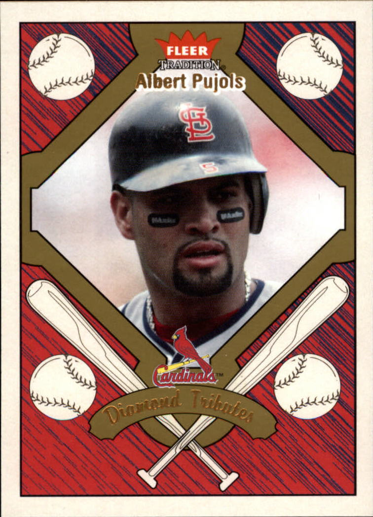 2004 Fleer Tradition Diamond Tributes #12 Albert Pujols