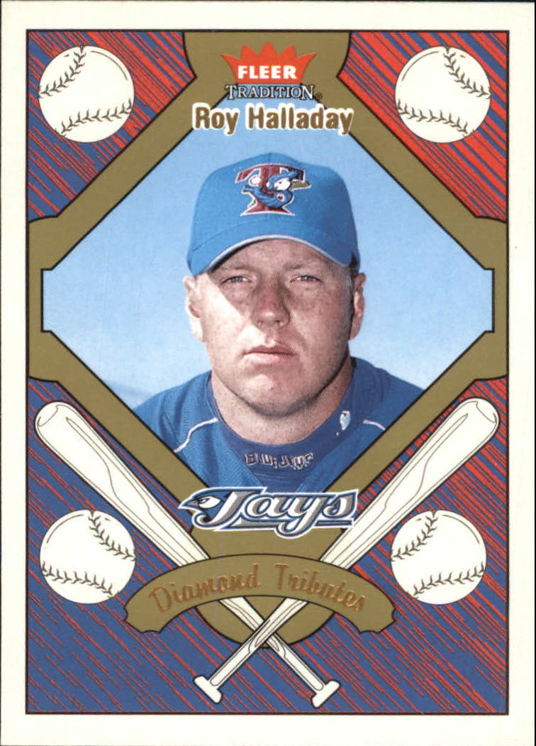 2004 Fleer Tradition Diamond Tributes #19 Roy Halladay