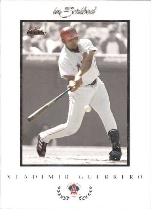 2004 Fleer InScribed #1 Vladimir Guerrero