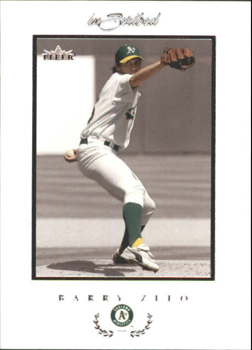 2004 Fleer InScribed #51 Barry Zito