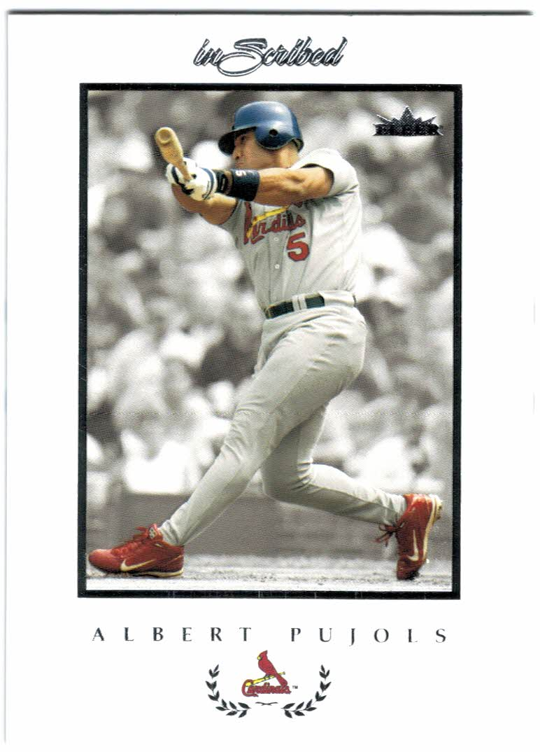 2004 Fleer InScribed #65 Albert Pujols