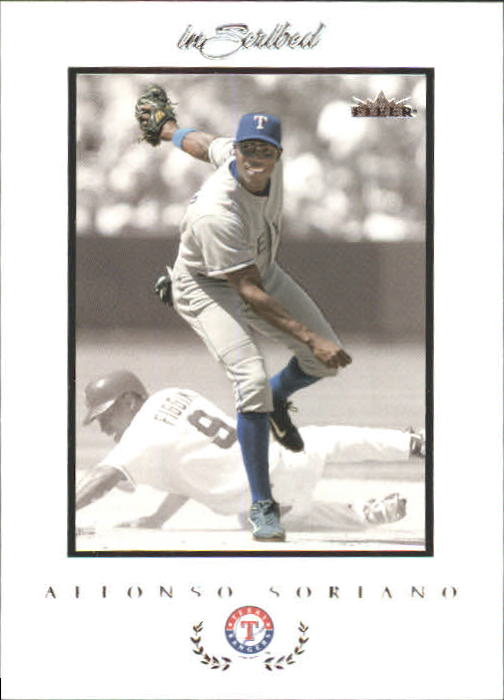 2004 Fleer InScribed #70 Alfonso Soriano