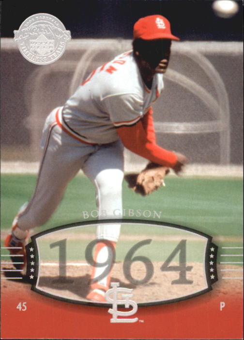 2004 UD Legends Timeless Teams #1 Bob Gibson 64