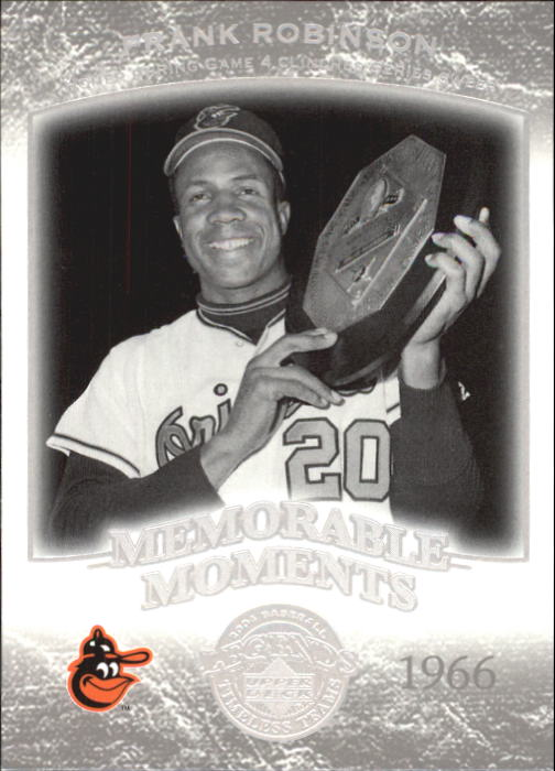 2004 UD Legends Timeless Teams #11 Frank Robinson MM 66