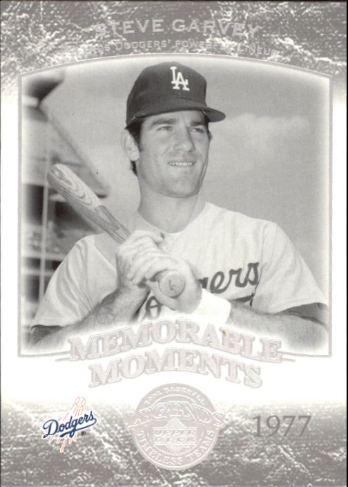 2004 UD Legends Timeless Teams #143 Steve Garvey MM 77