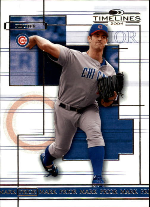 2004 Donruss Timelines #33 Mark Prior