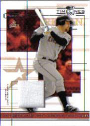 2004 Donruss Timelines Material #30 Lance Berkman Jsy