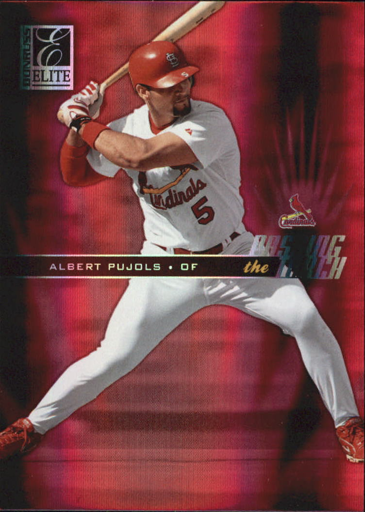 2004 Donruss Elite Passing the Torch #6 Albert Pujols