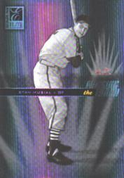 2004 Donruss Elite Passing the Torch Black #5 Stan Musial