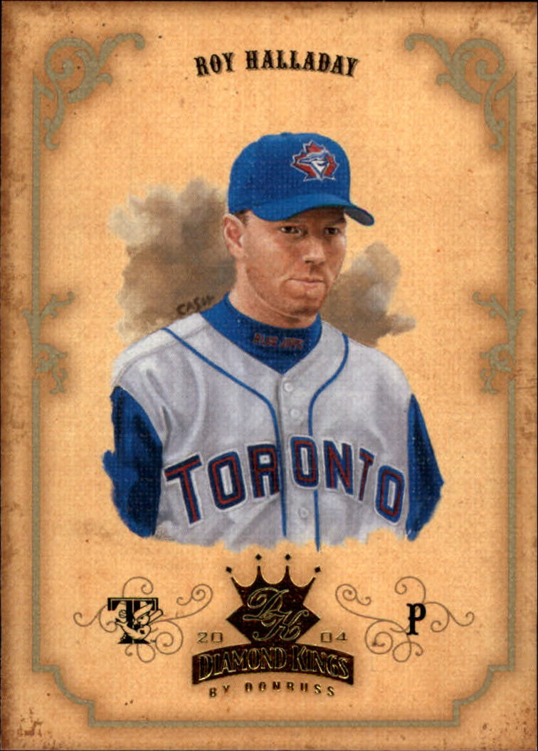 2004 Diamond Kings #37 Roy Halladay