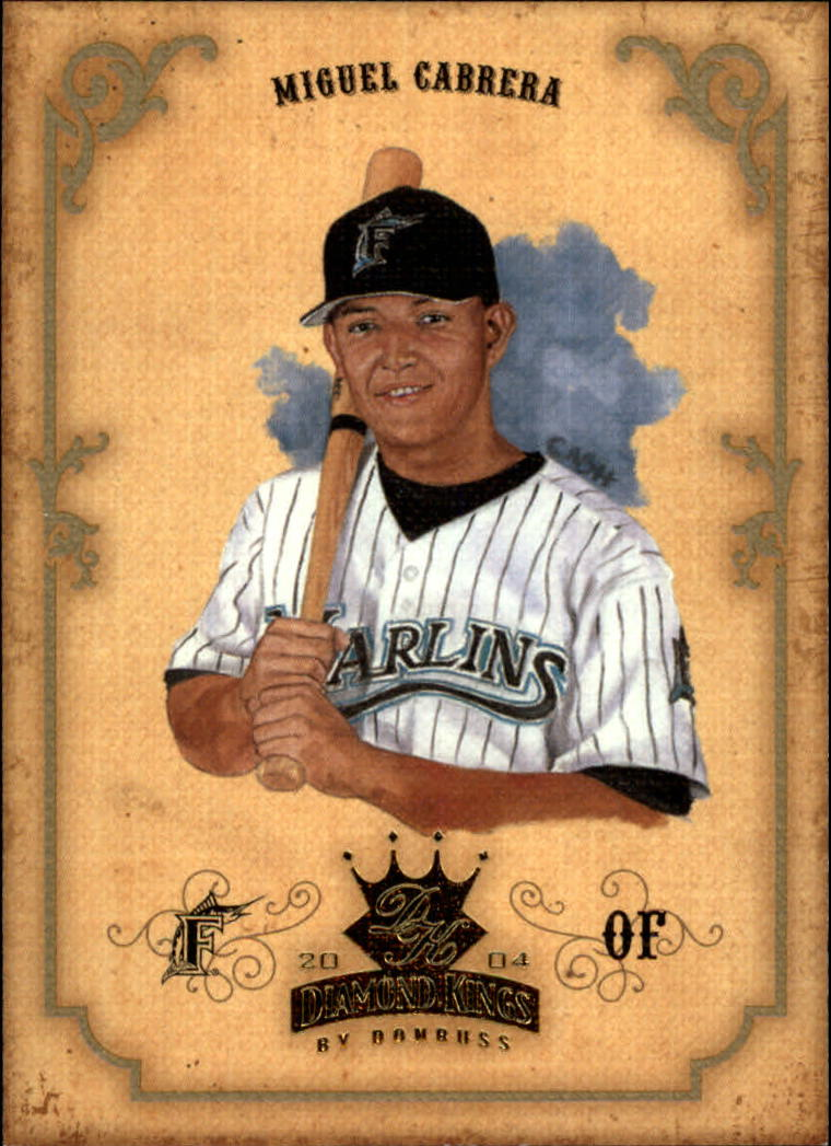 2004 Diamond Kings #103 Miguel Cabrera front image