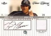 2004 Classic Clippings Jersey Rack Autograph Silver #MC Miguel Cabrera