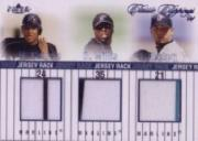2004 Classic Clippings Jersey Rack Triple Blue #CWB Miguel Cabrera/Dontrelle Willis/Josh Beckett