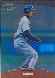2004 Bowman's Best Red #IS Ichiro Suzuki