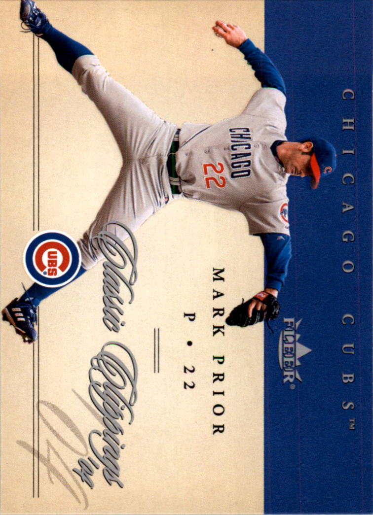 2004 Classic Clippings #6 Mark Prior