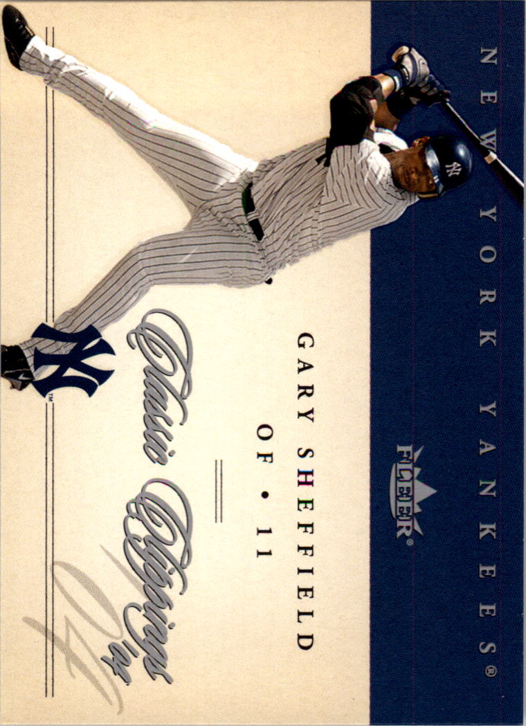 2004 Classic Clippings #21 Gary Sheffield