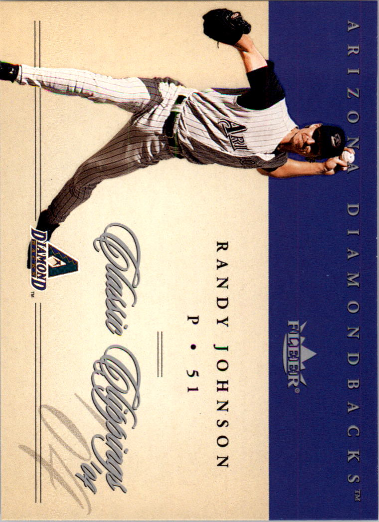2004 Classic Clippings #25 Randy Johnson