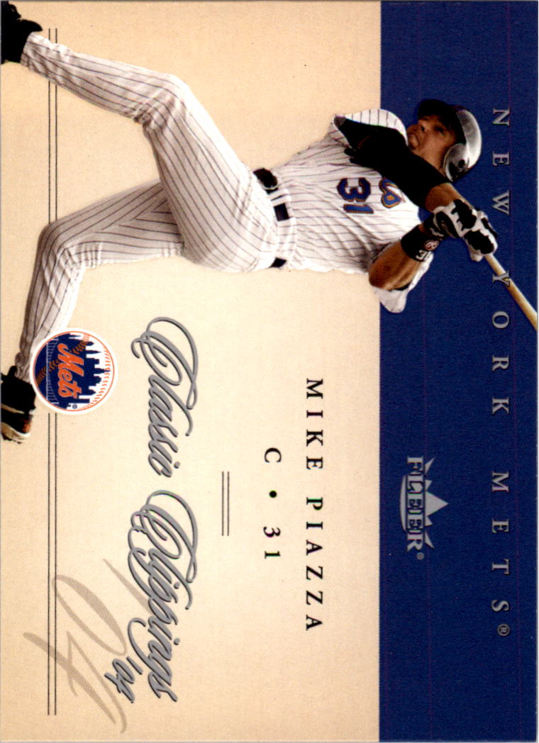 2004 Classic Clippings #29 Mike Piazza