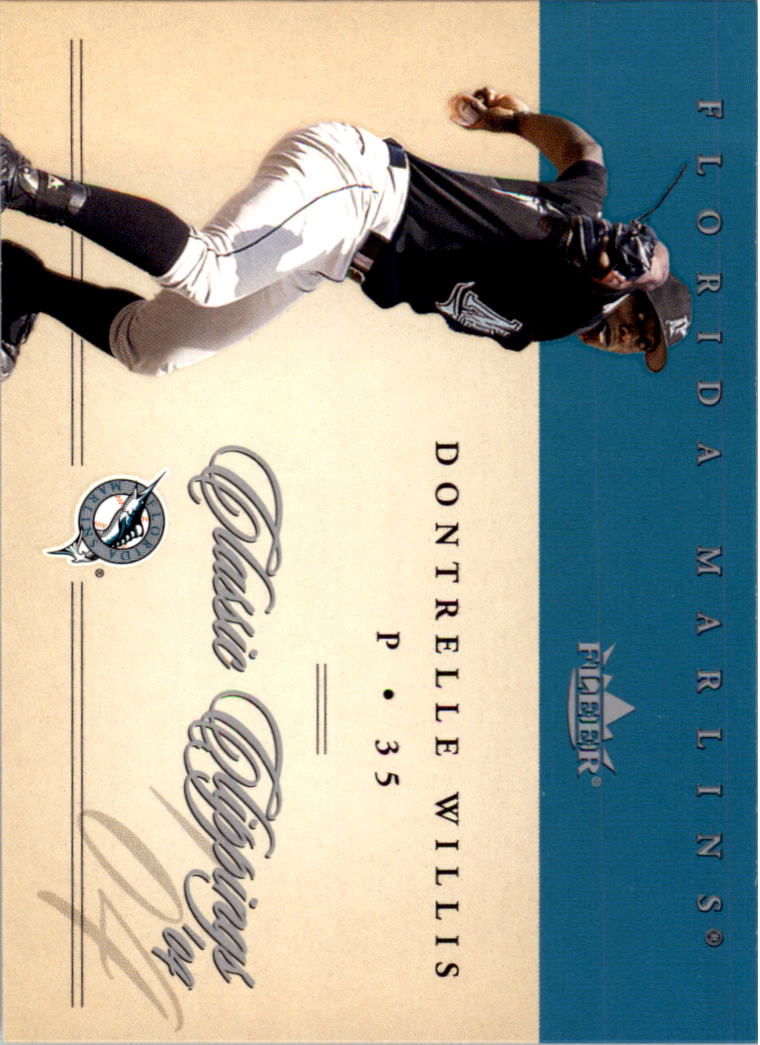 2004 Classic Clippings #44 Dontrelle Willis