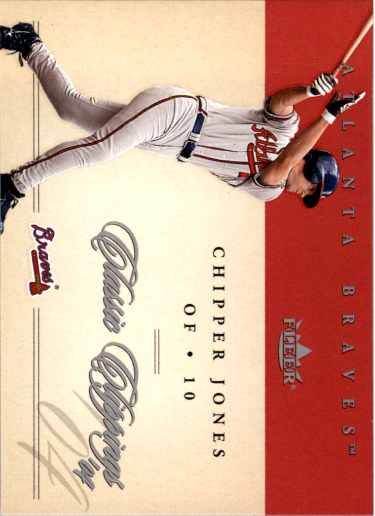 2004 Classic Clippings #49 Chipper Jones
