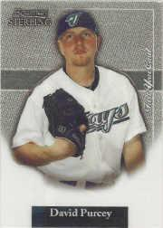 2004 Bowman Sterling #DPU David Purcey FY RC