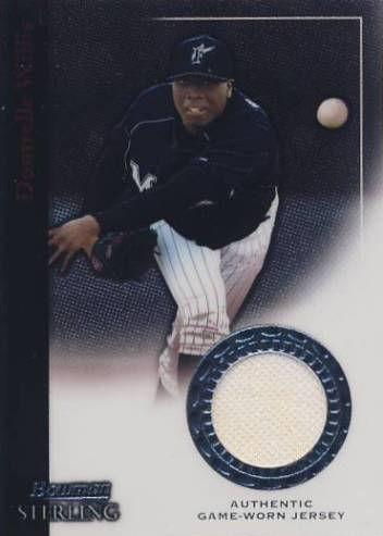 2004 Bowman Sterling #DWW Dontrelle Willis Jsy