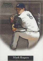 2004 Bowman Sterling #MRO Mark Rogers FY RC