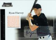 2004 Bowman Sterling #RH Ryan Harvey AU Bat