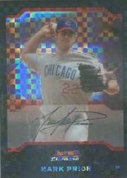 2004 Bowman Chrome X-Fractors #34 Mark Prior