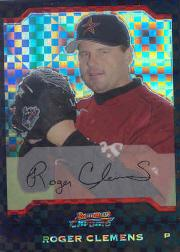 2004 Bowman Chrome X-Fractors #37 Roger Clemens