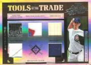 2004 Absolute Memorabilia Tools of the Trade Material Five PS #90 Mark Prior H/Bat-Fld Glv-Hat-Jsy-Shoe/5