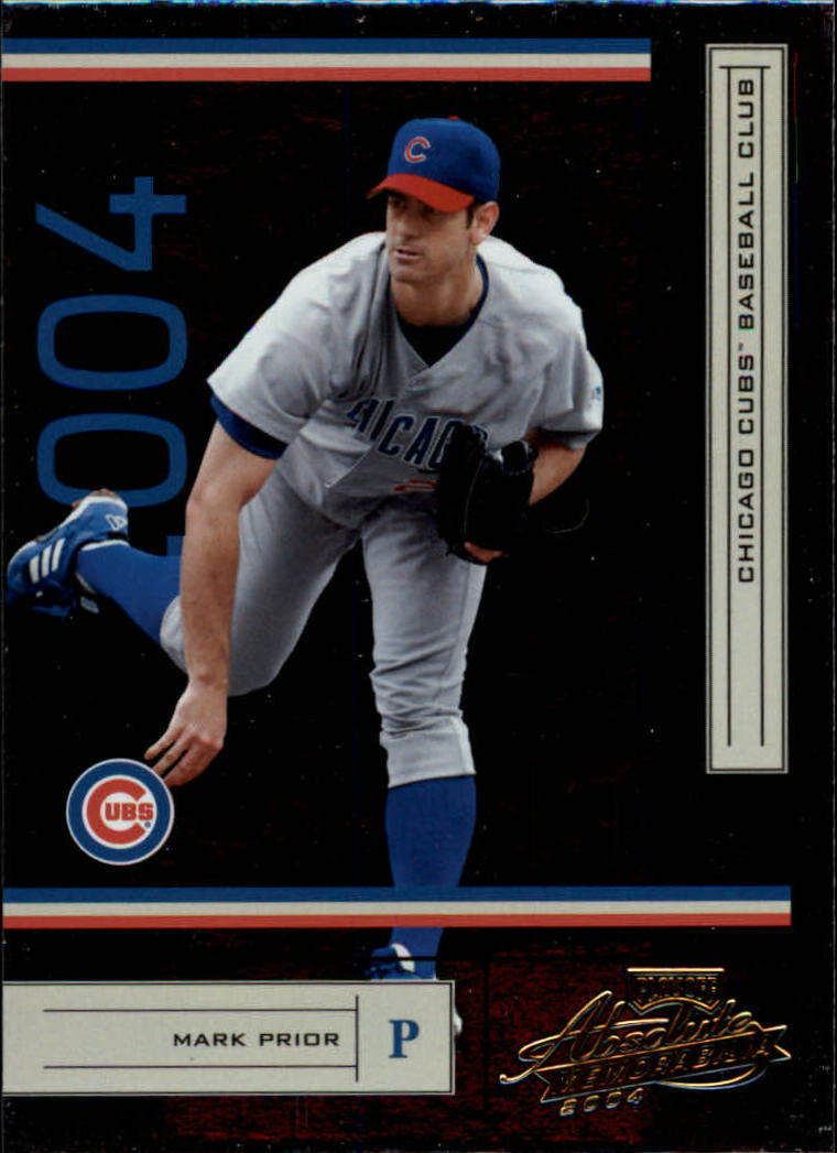 2004 Absolute Memorabilia Retail #46 Mark Prior