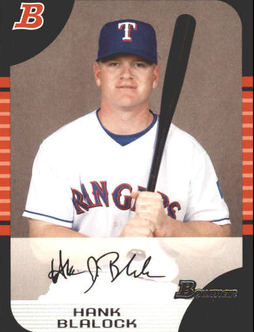 2005 Bowman #5 Hank Blalock