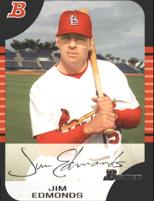 2005 Bowman #14 Jim Edmonds