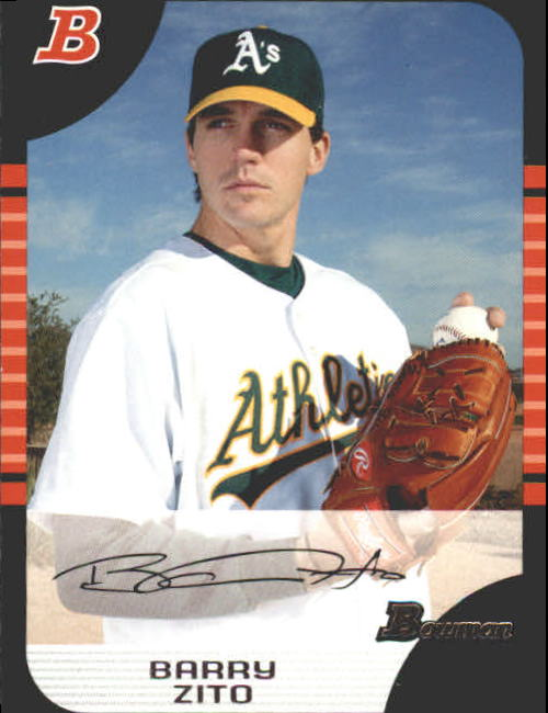 2005 Bowman #26 Barry Zito